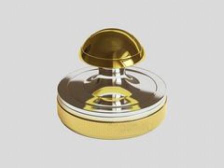 Ручная металлическая оснастка 23-1 для печатей врачa