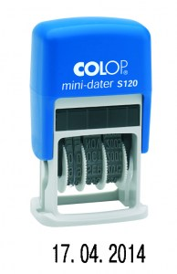 Colop S120 Bank
