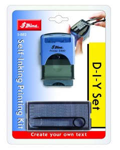 Самонаборный штамп Shiny S-882