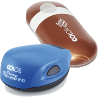 Colop Poket Stamp R40 и Colop Mouse R40