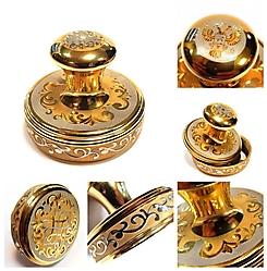 Золотая печать подарочная в коробке