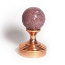 Розовая яшма (медь)