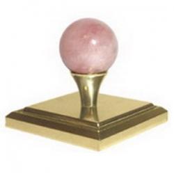 Розовый кварц основание под