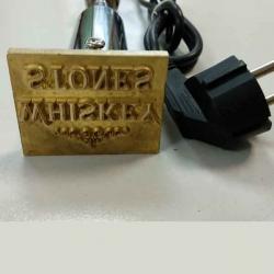 клеймо с электрическим нагревателем