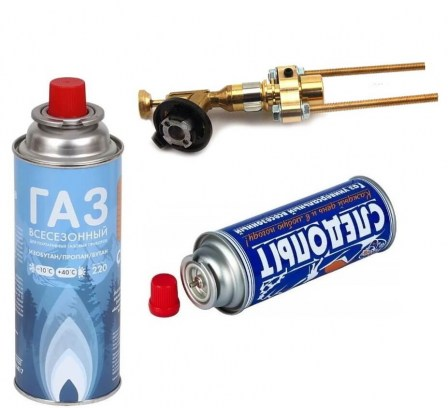 термоклеймо для газового баллона