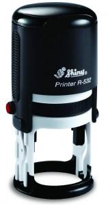 Автоматическая пластиковая оснастка для круглой печати Shiny R-532 д.32 мм (розница)