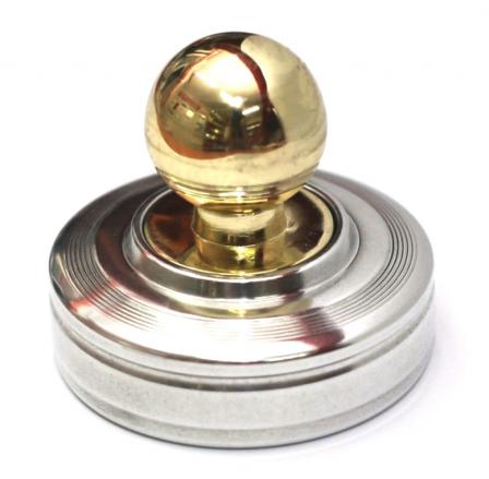Ручная металлическая для круглой печати Радий 42п