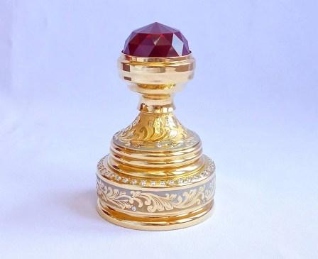 Подарочная золотая оснастка для печати