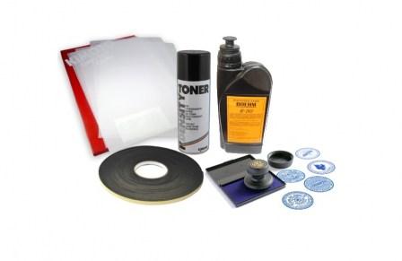 набор расходных материалов для изготовления печатей