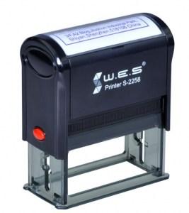 WES S-2258 размер оттиска 22*58мм