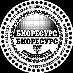 Печати ООО шаблоны_17