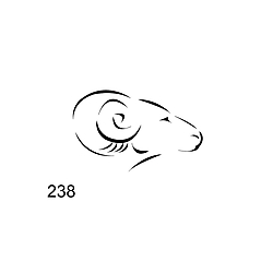 пломбир под пластилин и сургуч 238